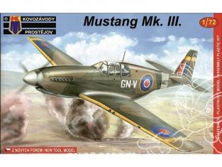 KP Model kit avion KPM0031 North American P-51C Mustang Mk.III 1/72