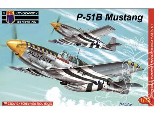 KP Model kit avion KPM0029 North American P-51B Mustang 1/72