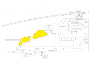 Eduard Express Mask EX799 Mi-24P TFace Zvezda 1/48
