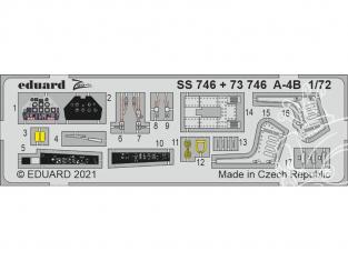 Eduard photodecoupe avion 73746 Amélioration A-4B Fujimi / Hobby 2000 1/72