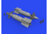 Eduard kit d'amelioration brassin 632176 CPU-123 Paveway II 1/32