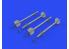Eduard kit d'amelioration brassin 632177 AIM-9J Sidewinder 1/32