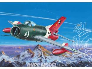 KP Model kit avion KPM0160 Shenyang F-6C Farmer-C 1/72