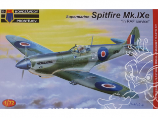 KP Model kit avion KPM0083 Spitfire Mk.IXe en RAF service 1/72