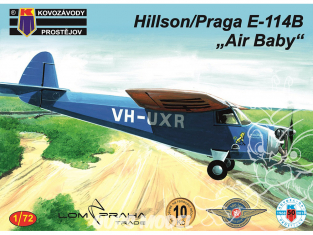 KP Model kit avion KPM0094 Hilson/Praga E-114B Air Baby 1/72