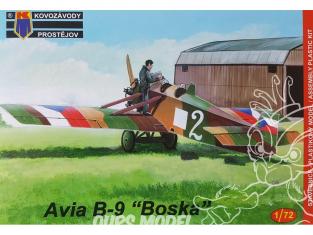 KP Model kit avion Kpm0076 Avia B-9 Boska 1/72