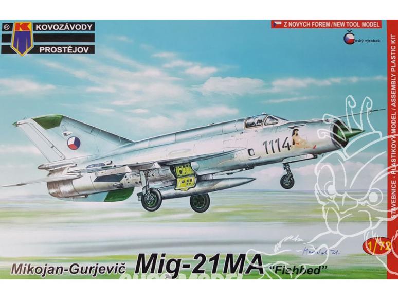 KP Model kit avion Kpm0097 Mikoyan-Gourevitch MiG-21MA 1/72