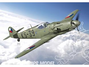 KP Model kit avion KPM0218 Avia S-199 avec canonssur ailes 1/72