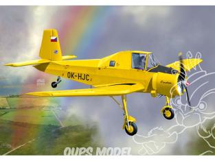 KP Model kit avion KPM0203 Let Z-37A Čmelák Movie Star 1/72