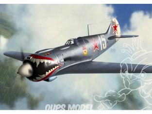 KP Model kit avion KPM0194 Lavotchkine La-5F Late marquages speciaux 1/72