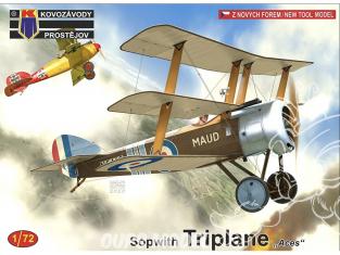 KP Model kit avion KPM0183 Sopwith Triplane As 1/72