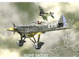 KP Model kit avion KPM0185 Dewoitine D.501 Britannique, URSS, Chine 1/72