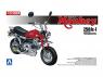 Aoshima maquette moto 61558 Honda Monkey Z50JZ-I Pièces Takegawa 1/12