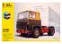 HELLER maquette camion 56773 STARTER KIT Scania LB-141 inclus peintures principale colle et pinceau 1/24