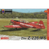 KP Model kit avion CLK0005 Zlin Z-226 Trener avion entrainement 1/72