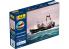 Heller maquette bateau 55608 STARTER KIT ROC AMADOUR + BODASTEINUR inclus peintures principales colle et pinceau 1/200