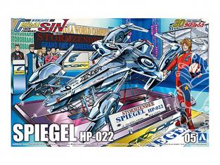 Aoshima maquette voiture 59074 Spiegel HP-022 Cyber Formula 1/24