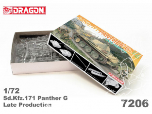 Dragon maquette militaire 7206 Sd.Kfz.171 Panther G Late Production 1/72