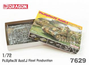 Dragon maquette militaire 7629 Pz.Kpfw.IV Ausf.J Final Production 1/72
