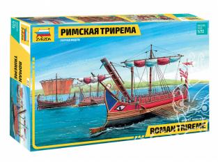 Zvezda maquette bateau 8515 Trirème romaine 1/72