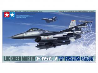 TAMIYA maquette avion 61098 Lockheed martin F16CJ 1/48