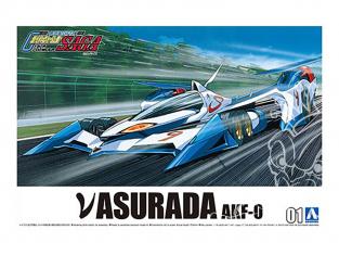 Aoshima maquette voiture 59036 Asurada AKF-0 Cyber Formula 1/24