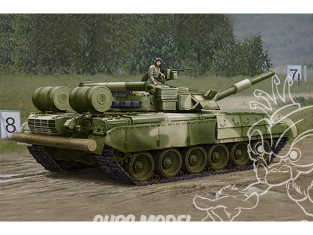 TRUMPETER maquette militaire 09581 MBT russe T-80UD Early 1/35