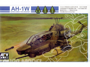 AFV Club maquettes avion 35S49 AH-1W SUPER COBRA 1/35