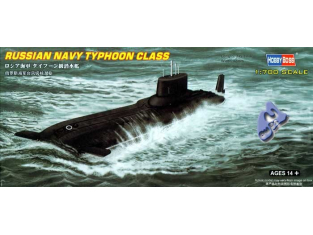HOBBY BOSS maquette bateau 87019 SOUS MARIN RUSSE CLASS TYPHOON