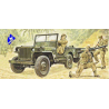 italeri maquette militaire 0314 Willis MB Jeep with Trailer 1/35