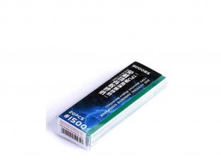 Border model outillage BD0085 Papier abrasif autocollant 1500 x20