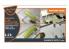 """Clear Prop kit d'amelioration avion CPA72038 Masque de peinture F-16B Twin siege kit Revell en """"papier kabuki jaune"""" 1/72"""