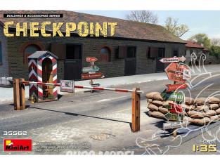MINI ART maquette militaire 35562 CHECKPOINT 1/35