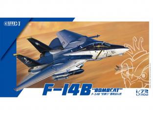 Great Wall Hobby maquette avion L7208 F-14B Bombcat 1/72