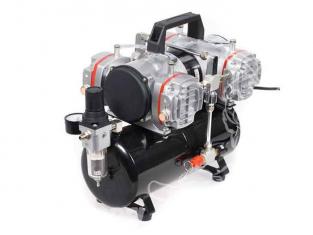 COMPRESSEUR AS48 compresseur 4 cylindres à piston sec sans huile reserve d&39air