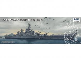 VEE Hobby Maquette bateau V57003 USS Missouri BB-63 1945 Standard edition 1/700