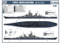 VEE Hobby Maquette bateau E57003 USS Missouri BB-63 1945 Deluxe edition 1/700