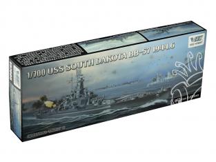 VEE Hobby Maquette bateau E57005 USS South Dakota BB-57 1944.6 Deluxe edition 1/700