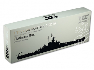 VEE Hobby Maquette bateau P57005 USS South Dakota BB-57 1944.6 Platinium edition 1/700