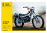 Heller maquette moto 80902 Yamaha TY 125 1/8