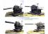 Fujimi maquette militaire MT-9511 Dora 80 cm Kanone (E) Schwerer Gustav 1/144