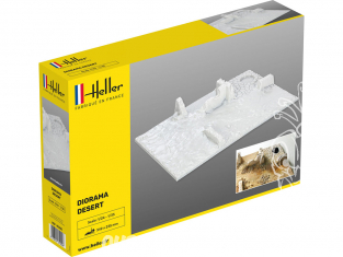Heller maquette voiture 81255 Socle diorama Desert 1/35