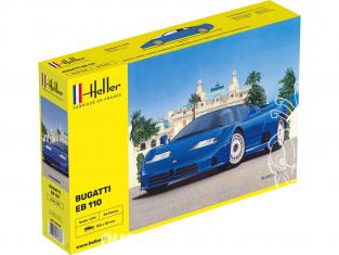 Heller maquette voiture 80738 BUGATTI EB 110 1/24