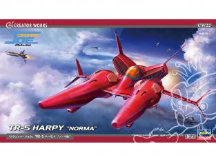 "HASEGAWA maquette avion 64522 ""Crusher Joe"" Norma TR-5 Harpy 1/72"