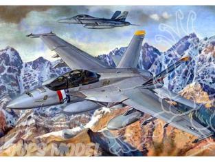 TRUMPETER maquette avion 03205 McDonnell Douglas F/A-18F 1/32