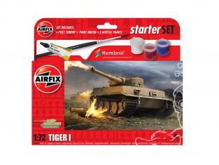 Airfix maquette militaire A55004 Petit kit de démarrage NOUVEAU Tiger 1 1/72