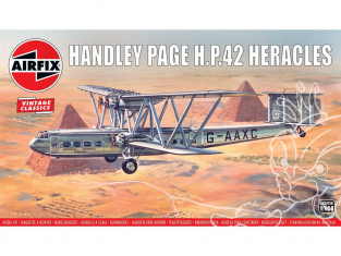 AIRFIX maquettes avion 03172V Handley Page H.P.42 Heracles 1/144