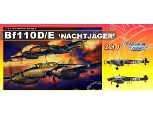 Dragon maquette avion 3210 Messerschmitt Bf 110D/E 1/32