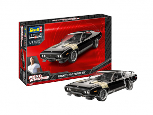 Revell maquette voiture 67692 Model set Fast And Furious Dominic's 1971 Plymouth GTX 1/25