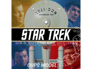 Polar Lights maquette 978 POLAR LIGHTS Star Trek TOS U.S.S.Enterprise pre construit 1/350